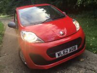 2012 Peugeot 107.Free Tax ,34,000 miles only