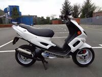 2010 PEUGEOT SPEEDFIGHT 50 AC 2T SCOOTER MOPED NICE MODS NEW MOT & TAX GWO V5
