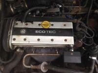 Vauxhall x20xev ecotec engine calibra cavalier Astra nova corsa