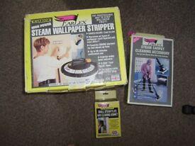Wall paper stripper / Steam wallpaper stripper with attachments