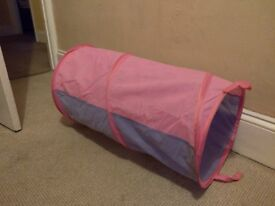 Pink & purple children's play tunnel for sale