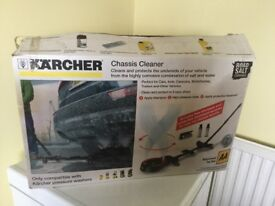 Karcher Chassis Cleaner Cleans and Protects the underside of your vehicle