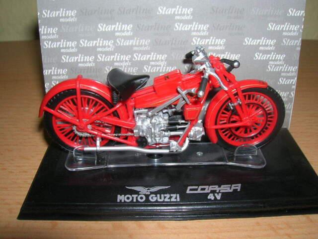 Starline Moto Guzzi Corsa C4V Motorrad 1:24 Neu OVP