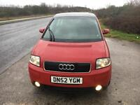 Audi A2 1.6 sport *Panoramic Roof and Leather*