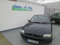 2000 Escort 1,6 black 43500 miles MOT June 16 London car, future classic car, no rust Belfast/Derry