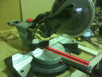 Sliding Mitre Saw with laser Cut up to 310mm with two Saw'S