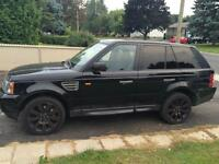 Range rover hse super charge