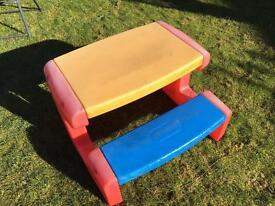 Little tykes kids bench
