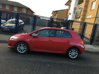 58 reg 2008 toyota auris 1.4 manual 5 door red, 1 lady owner, 54k mot n tax, hpi clear 100%
