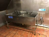 FREE Stainless Steel Souble Sink