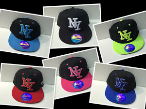 casquette-enfant-NY-new-york-taille-standard-reglage-3-A-8-ans