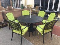 Ex-display Casa 6 seat dinning set