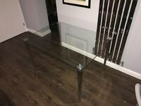 Glass Dining Table Rectangle