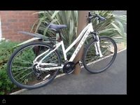 Carrera Crossfire 1 Womens Hybrid Bike For sale for spares and repairs