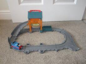 Thomas The Tank Engine Take N Play Repair Shed