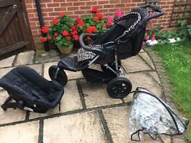 Pushchair and car seat great condition
