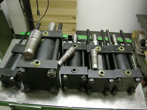 NEW-LOT-OF-10-HANNA-HYDRAULIC-CYLINDERS-FOR-AUTOMATION-PRODUCTION-MACHINE-SHOP