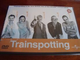 Brand new and sealed Trainspotting Dvd