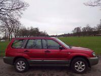 TRADE-IN BARGAIN! (2003) SUBARU Forester 2.0 X AWD Station Wagon- LONG MOT- LAST OWNER 7 YEARS- FSH