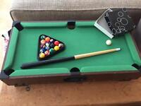 REDUCED - Kids pool table