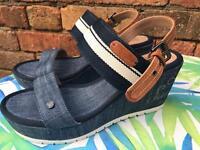 Ladies Wrangler wedge sandals