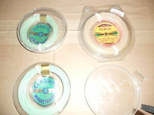 Soie floatant a mouche, (NEUF) Fly floating fishing line