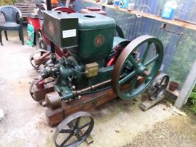 Ruston & Hornsby Stationary Engine