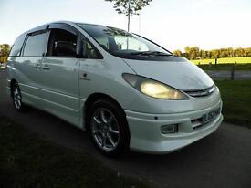 TOYOTA PREVIA ESTIMA (PREVIA) 2.4 G-EDITION 8 seat 5dr Auto (white) 2003