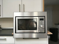 Lamona Integrated Microwave Oven and Grill Very Good Condition HJA7010