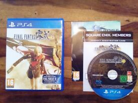 Final Fantasy 0 HD - PS4 - Immaculate Condition
