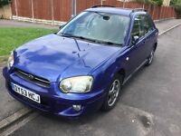 Subaru lmpreza 2.0 gs sport 2003 facelift model awd 5 door station wagon mot February taxed