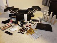 SBC Complete Professional Makeup Kit + Makeup bag