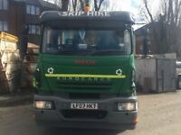 Skip Lorry 18 tone Iveco eurocargo Euro4