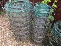 Wire fencing - veering lengths and thickness
