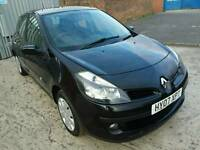 2007 RENAULT CLIO DYNAMIQUE 1.4 16V BLACK ONLY 54000 MILES
