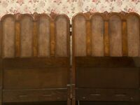 Exquisite Quality Headboards- for two single or fixed together for a SuperKing size bed