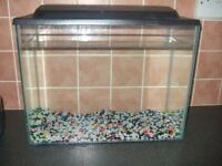 small fish tank, clean good condition