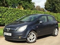 Vauxhall Corsa 2007 1.2 i 16v SXi 5dr***2 KEYS + LONG MOT!***