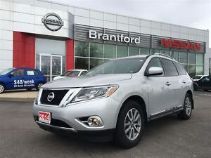 2014 Nissan Pathfinder SL LEATHER, TECH PACKAGE