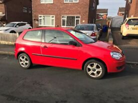 Volkswagen Polo Red 1.2L
