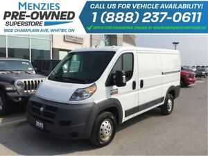 2015 Ram Promaster Low Roof