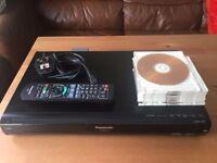 Panasonic DMR-EX773 DVD Recorder HDD 160GB + DVD-RAM disc