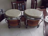 Pair of Bongo Drums.