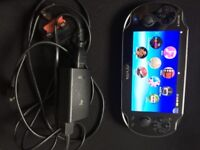 Playstation Vita Console, Black Wifi, Unboxed