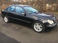 Mercedes benz C220 Cdi 53 Reg 4 door Diesel Automatic Leather Alloys Bargain export enquirys welcome