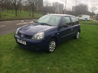 Renault Clio compas 57 plate hpi clear low millig bargin