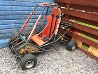 Off road buggy rolling chassis