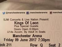 2 Kings of Leon tickets concert in Manchester