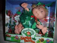Collectable Cabbage Patch Garden Fairies Boxed Doll