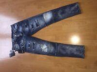 Glam Head Dsquared2 Jeans 28 waist not stone island gucci Armani true religon